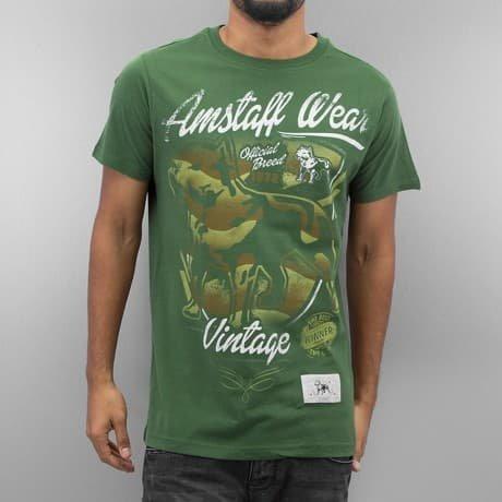 Amstaff T-paita Vihreä