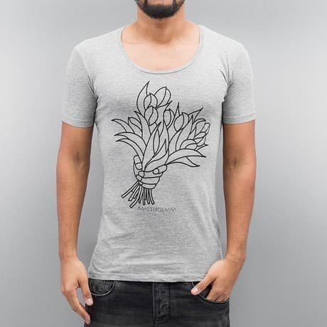 Amsterdenim T-paita Harmaa
