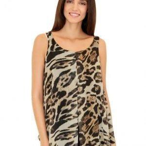 Amy Vermont Toppi Leopardi / Musta