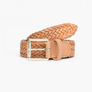 Anderson's Braided Leather Belt