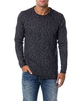 Anerkjendt Teil Knit Midnight Navy