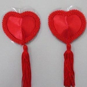 Anette punaiset sydän pasties