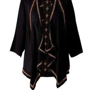 Angel Of Style Kimono Musta