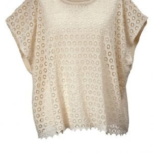 Angel Of Style Neuleponcho Offwhite