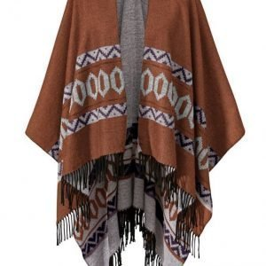 Angel Of Style Poncho Ruoste