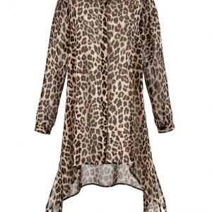 Angel Of Style Sifonkipusero Joissa Leopardikuvio Kuvioitu