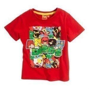 Angry Birds T-paita Punainen