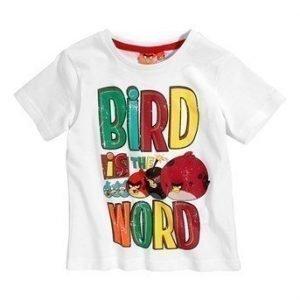 Angry Birds T-paita Valkoinen