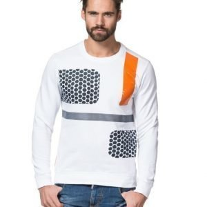 Antony Morato Art Print Sweat 1000 Bianco