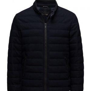 Antony Morato Coat With Rib Neck Collar And Pocket With Zip villakangastakki