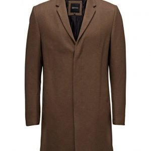 Antony Morato Long Coat With Hidden Buttoning villakangastakki