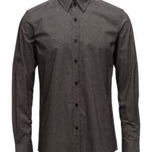 Antony Morato Shirt Long Sleeve With Fabric Print
