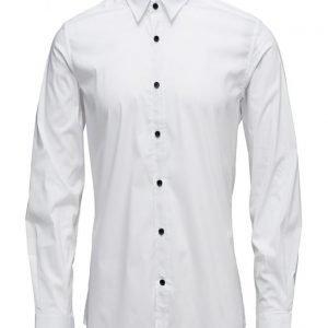 Antony Morato Shirt Long Sleeve With Tape Inside Fly