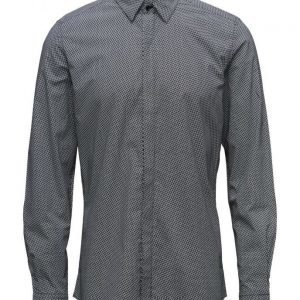 Antony Morato Shirt Long Sleeves With Printed Fabric