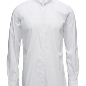 Antony Morato Shirt With Piercing On Front Center Collar muodollinen paita
