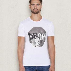Antony Morato T-shirt Print Drop LSD 1000 Bianco