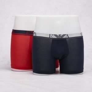 Armani 2-Pack Boxer Red/Marine