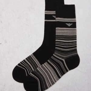 Armani 2-pack Socks 00020 Black