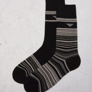 Armani 2-pack Socks 00020 Black