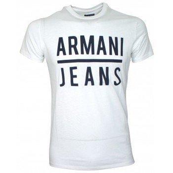 Armani Jeans Tee-shirt B6A79UL noir lyhythihainen t-paita