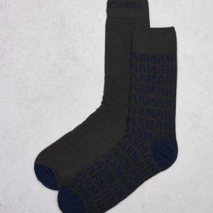 Armani Socks 00142 Dark Grey