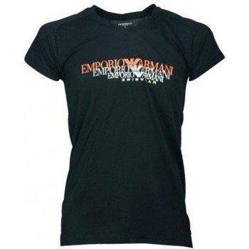 Armani Tee-shirt 3P451/211568 noir lyhythihainen t-paita