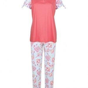Ascafa Pyjama Koralli / Akvamariini
