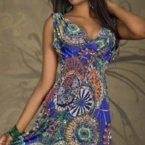 Ashanti sininen mekko