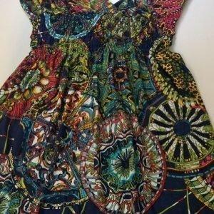 Ashanti tummansininen mekko (plus size)