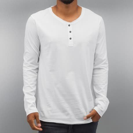 Authentic Style Pitkähihainen Paita Valkoinen
