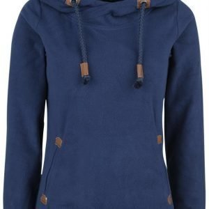 Authentic Style Sublevel Badge Fleece Hood Naisten Huppari