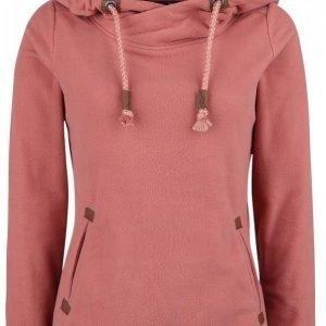 Authentic Style Sublevel Badge Fleece Hood Naisten Huppari