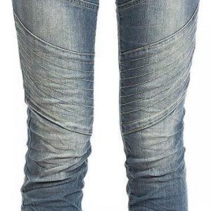 Authentic Style Sublevel Biker Jeans Naisten Farkut