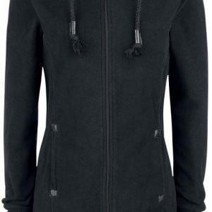 Authentic Style Sublevel Long Fleece Jacket Naisten Vetoketjuhuppari