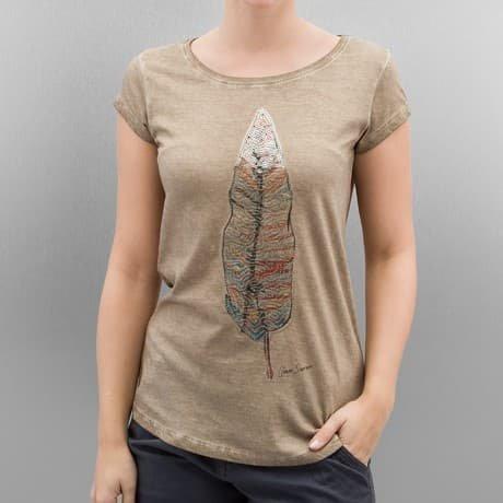 Authentic Style T-paita Beige