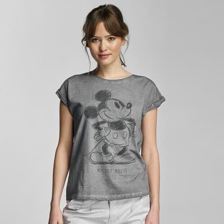 Authentic Style T-paita Harmaa