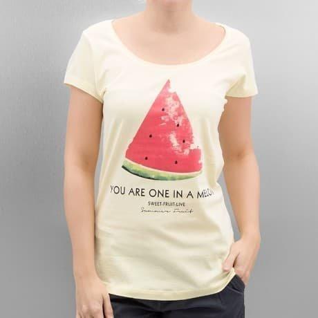Authentic Style T-paita Keltainen