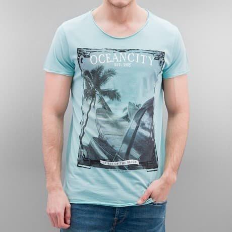 Authentic Style T-paita Turkoosi