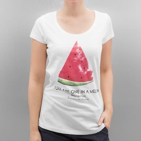 Authentic Style T-paita Valkoinen