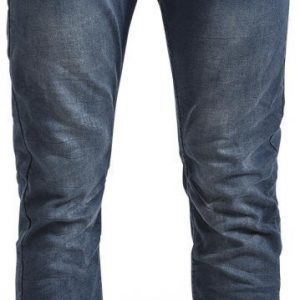 Authentic Style Urban Surface Dark Blue Jeans Farkut