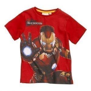 Avengers T-paita Punainen
