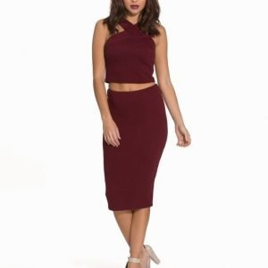 Ax Paris Bandage Midi Dress
