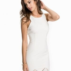 Ax Paris Crochet Hem Midi Bodycon Dress