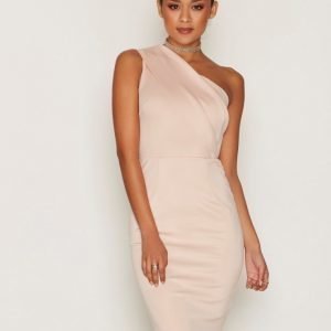 Ax Paris One Shoulder Dress Kotelomekko Pink