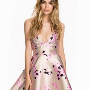 Ax Paris Printed Skater Dress