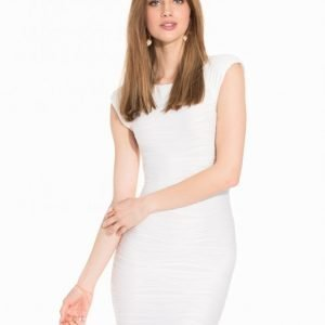 Ax Paris Ripple Bodycon Kotelomekko Cream