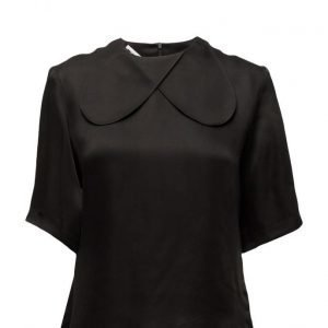 BACK Abstract Collar T-Shirt lyhythihainen pusero