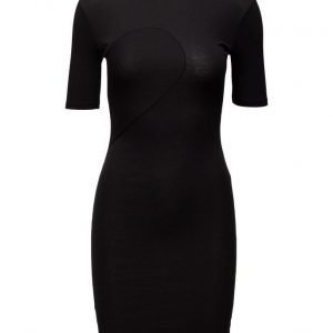 BACK Abstract Rib Dress lyhyt mekko
