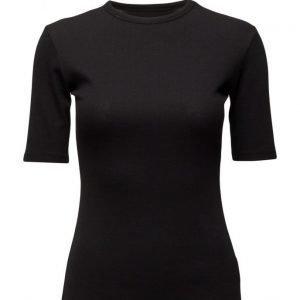 BACK Abstract Rib T-Shirt