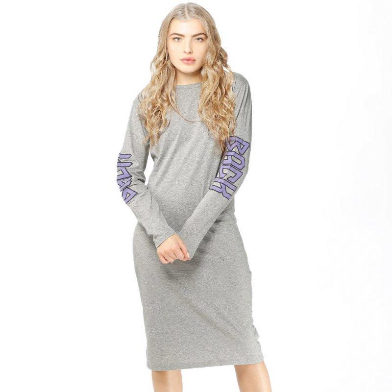 BACK Dress Print -mekko